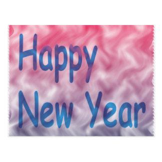 o feliz ano novo cartões postais
