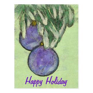 O feliz ano novo cartao postal
