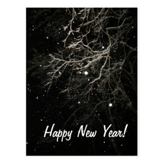 O feliz ano novo cartoes postais