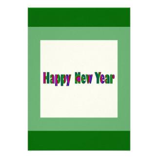 O feliz ano novo