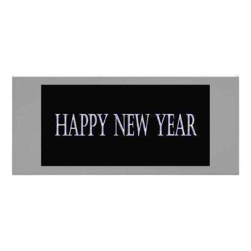 o feliz ano novo convite personalizados