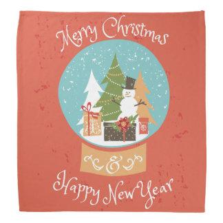 O feliz ano novo do Feliz Natal Bandana