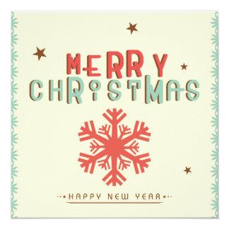 O feliz ano novo do Feliz Natal Convites Personalizado