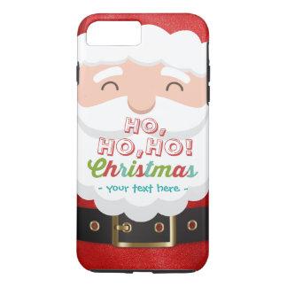 O feliz ano novo do Natal do terno de Papai Noel Capa iPhone 8 Plus/7 Plus