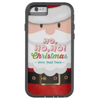 O feliz ano novo do Natal do terno de Papai Noel Capa Tough Xtreme Para iPhone 6