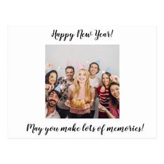 O feliz ano novo faz lotes do cartão das memórias