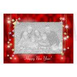 O feliz ano novo Stars (o quadro da foto) Cartão
