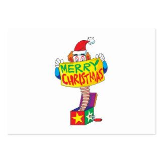 O Feliz Natal feito sob encomenda Jack em uma Modelo Cartão De Visita