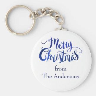 O Feliz Natal personalizou o chaveiro do feriado