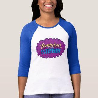 O feminismo é para todos coube 3/4 de camisa da
