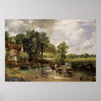 O feno Wain 1821 Posters