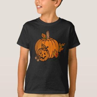 O feriado das abóboras do Dia das Bruxas caçoa o Camiseta