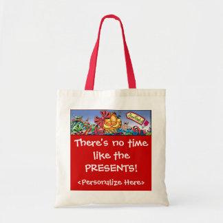 O feriado de Garfield Logobox apresenta a sacola Bolsas Para Compras