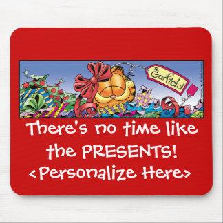 O feriado de Garfield Logobox apresenta Mousepad
