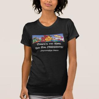 O feriado de Garfield Logobox apresenta o t-shirt