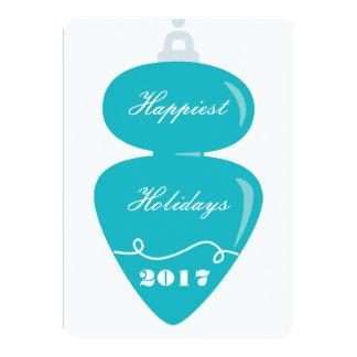 O feriado o mais feliz convite 12.7 x 17.78cm