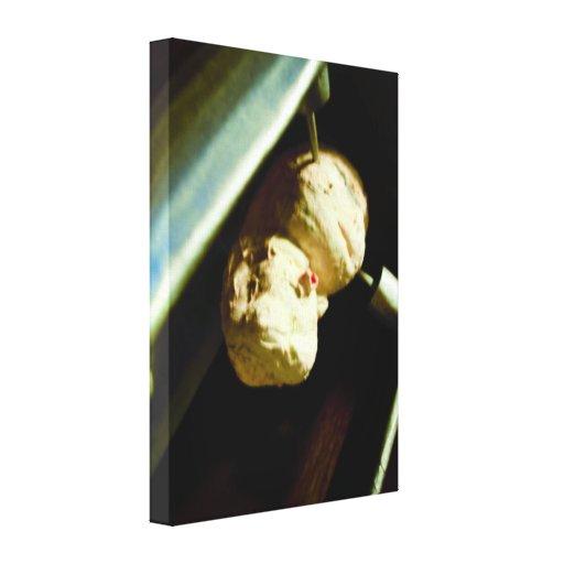 O feto estrangeiro congelado Cryo esticou o impres Impressão Em Tela Canvas