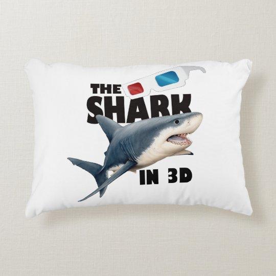 O filme do tubarão almofada decorativa