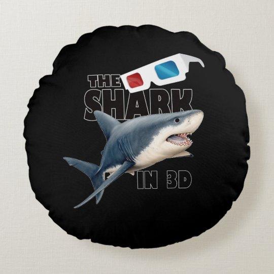 O filme do tubarão almofada redonda