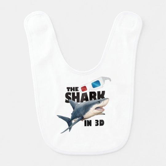 O filme do tubarão babadores para bebes