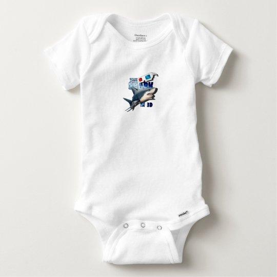 O filme do tubarão body para bebê