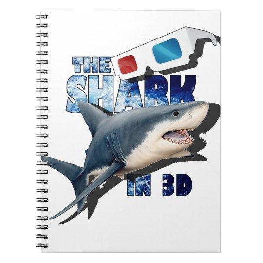 O filme do tubarão cadernos espiral