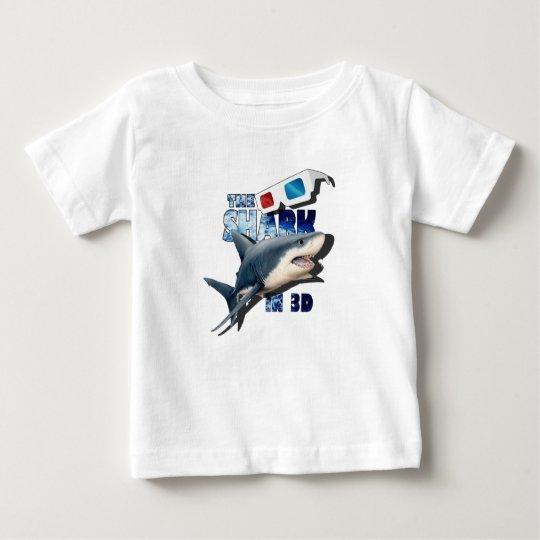 O filme do tubarão camiseta para bebê