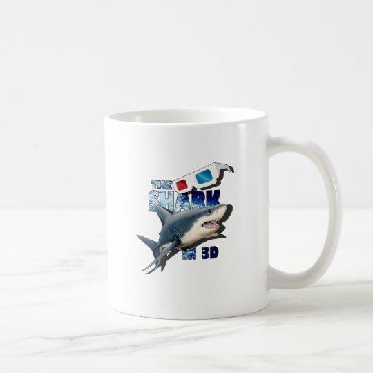 O filme do tubarão caneca de café