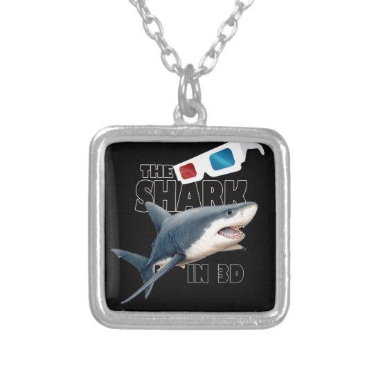 O filme do tubarão colar banhado a prata