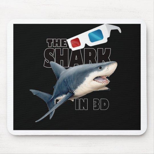 O filme do tubarão mouse pad