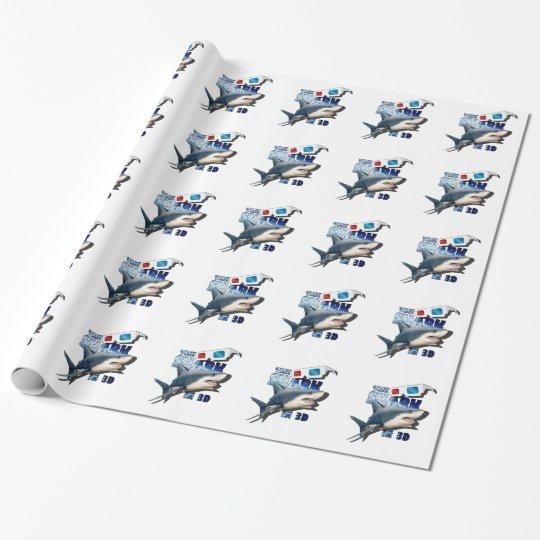 O filme do tubarão papel de presente