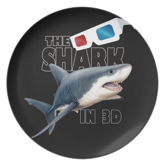 O filme do tubarão prato de festa