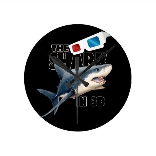 O filme do tubarão relógio redondo