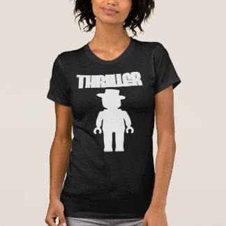 O filme policial branco Minifig personaliza perto  T-shirts