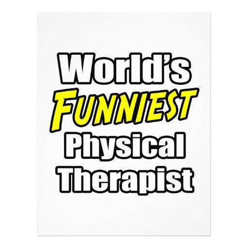 O fisioterapeuta o mais engraçado do mundo panfletos