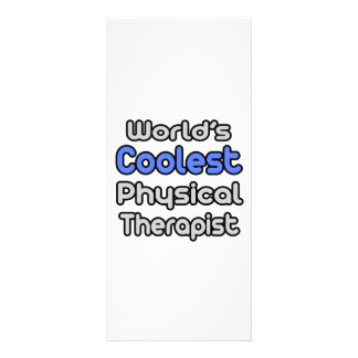 O fisioterapeuta o mais fresco do mundo 10.16 x 22.86cm panfleto