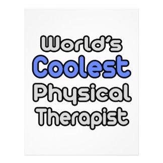 O fisioterapeuta o mais fresco do mundo panfleto