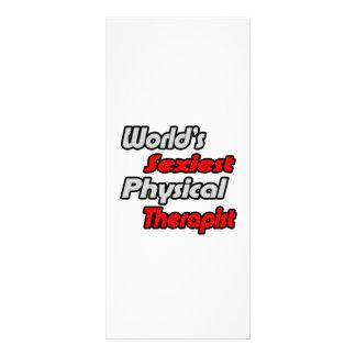 """O fisioterapeuta o mais """"sexy"""" do mundo 10.16 x 22.86cm panfleto"""
