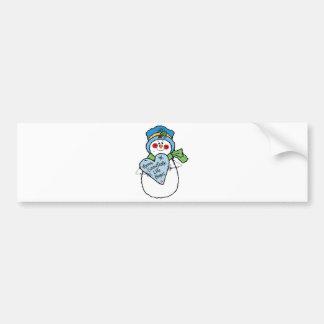 o floco de neve gosta do boneco de neve home adesivos