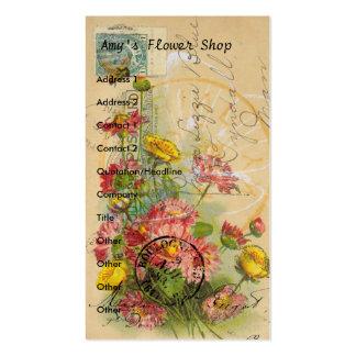 O florista do Amy Cartão De Visita