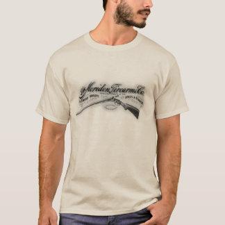 O fogo de Meriden arma o t-shirt básico dos homens Camiseta