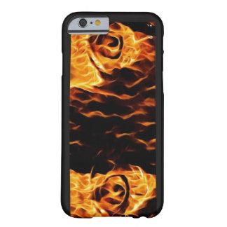 O fogo em seus olhos capa barely there para iPhone 6