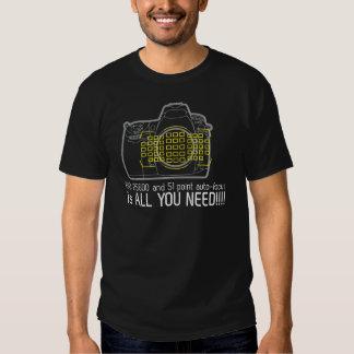 O fotógrafo Nikon D700 é tudo que você precisa T-shirts