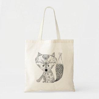 O Fox do bebê colore-me o bolsa pequeno