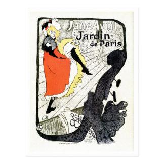 O francês do De Toulouse Lautrec do vintage Cartão Postal