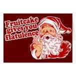 O Fruitcake dá-lhe a flatulência Cartões