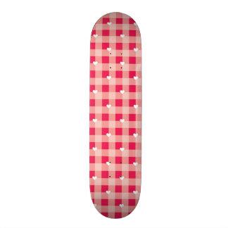 O fundo dos namorados vermelhos doces shape de skate 18,1cm
