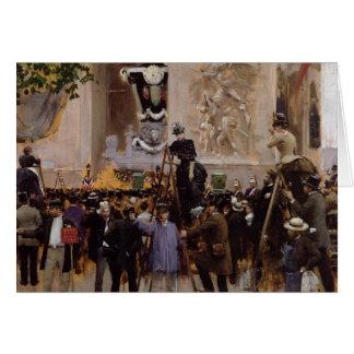 O funeral de Victor Hugo Cartão