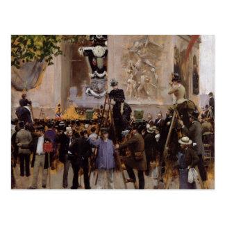 O funeral de Victor Hugo Cartoes Postais