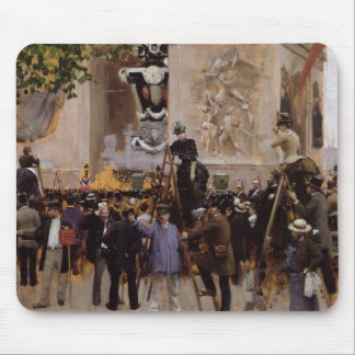 O funeral de Victor Hugo Mousepad